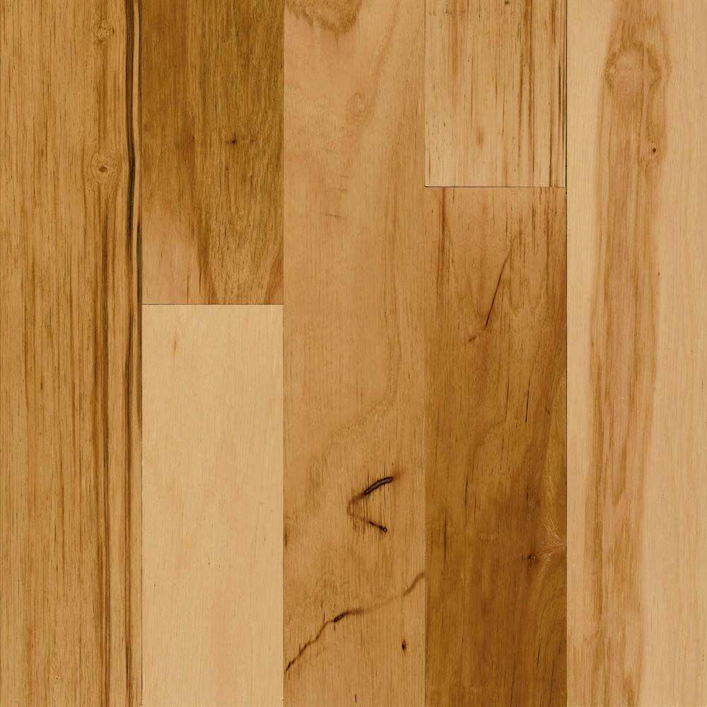 Bruce Westminster 3/4 in Thick x 4-1/2 in W x Random L Hickory Country Natural Engineered HW Floor 16 sq.ft/case-DISCONTINUED