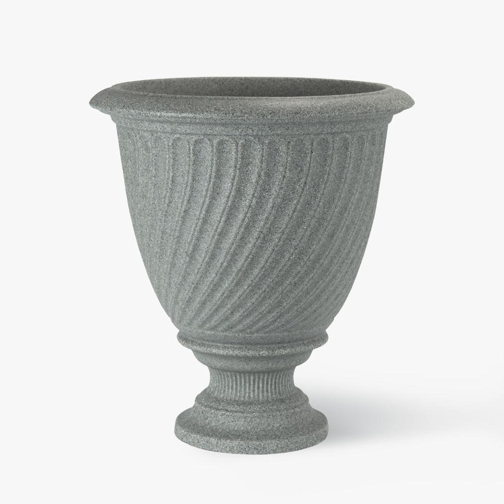 17 in. Concrete Resin Antibes Urn