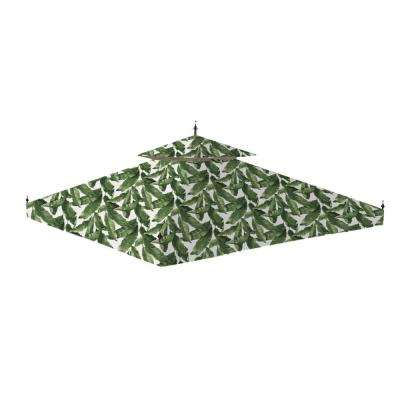Standard 350 Palm Replacement Canopy for 10 ft. x 10 ft. Arrow Gazebo