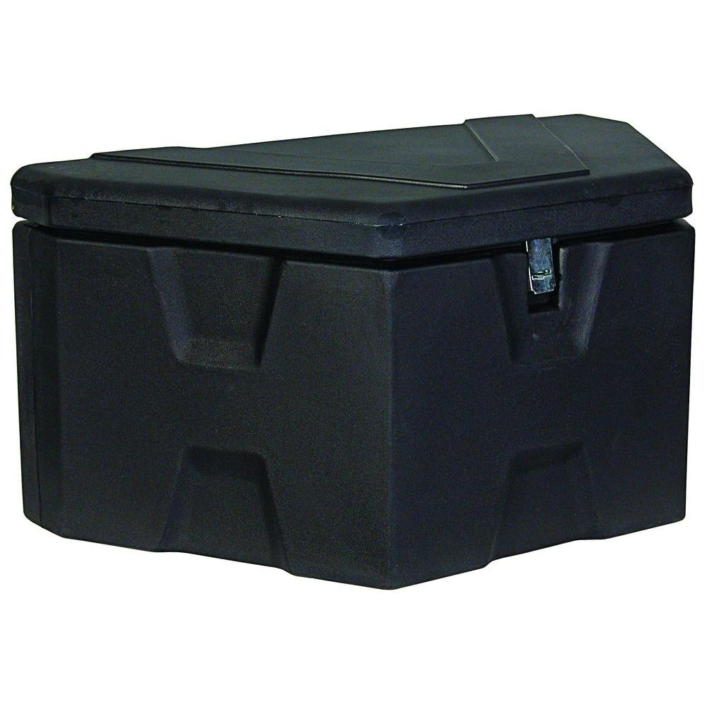 Buyers Products Company 18 In X 19 In X 36 In Matte Black Plastic Trailer Tongue Truck Tool Box 1701680 The Home Depot