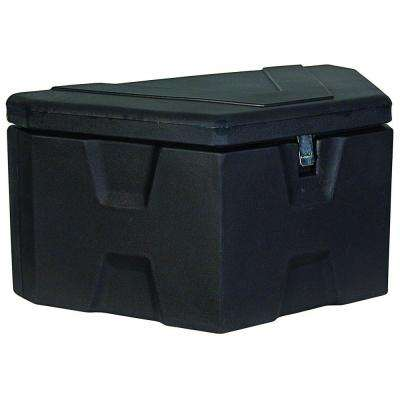 36 in. Trailer Tongue Black Polymer Tool Box