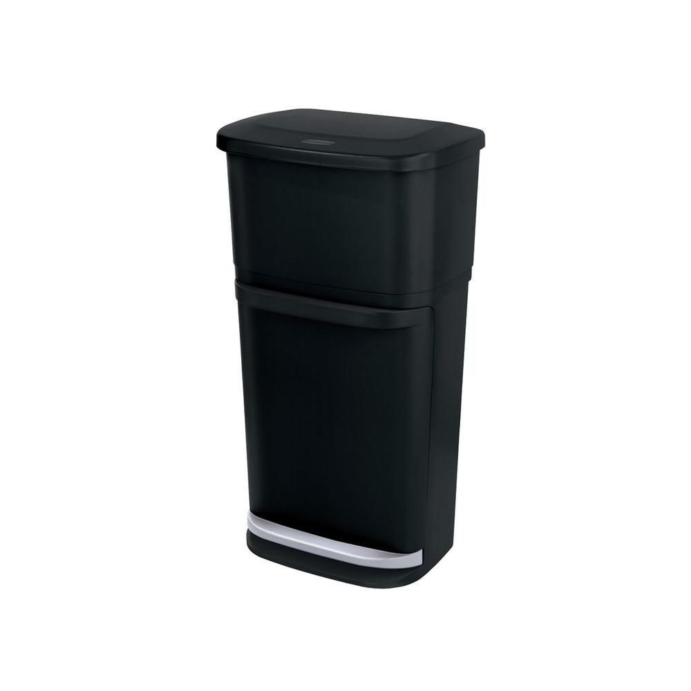 Rubbermaid 13.2 Gal. 2-in-1 Indoor Recycling Bin-1819956 - The ...