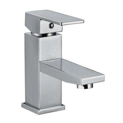 Karsen Single Hole Single-Handle Bathroom Faucet in Polished Chrome