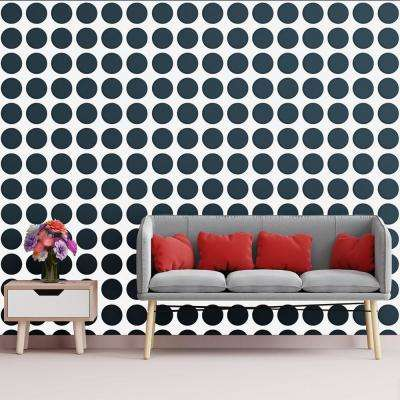 3/8 in. x 15-3/4 in. x 15-3/4 in. Medium Wembley White Architectural Grade PVC Decorative Wall Panels