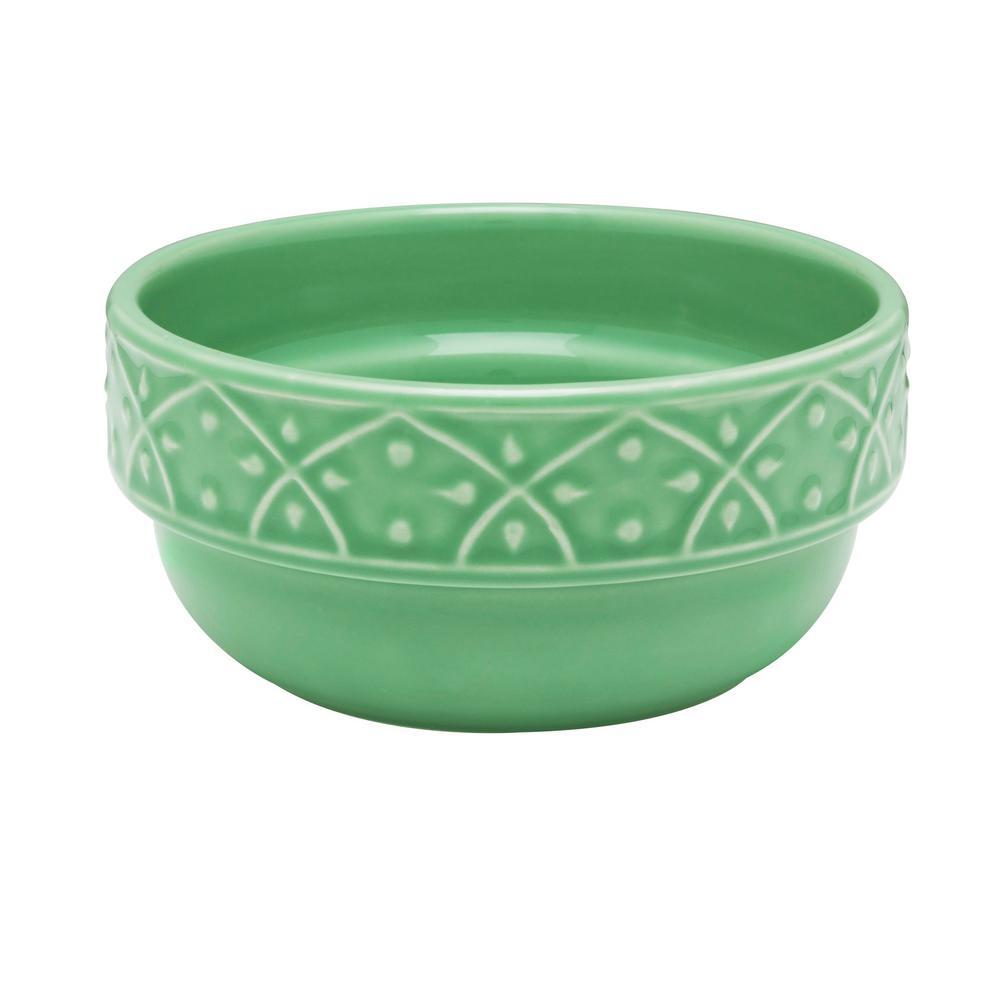 Manhattan Comfort Mendi 16.91 oz. Green Earthenware Soup Bowls (Set of 12) was $179.99 now $102.39 (43.0% off)