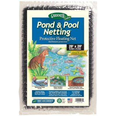 Dalen Products Pool and Pond netting 3/8 in. Polypropylene Mesh (28 ft. x 28 ft.)