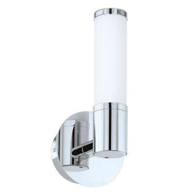 Palmera 1 40-Watt Chrome Integrated LED Bath Light