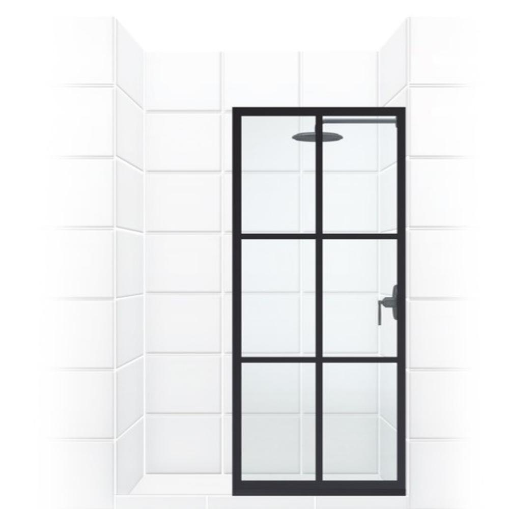 Coastal Shower Doors Gridscape Series 36 In X 75 Factory Window Framed Fixed