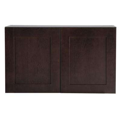 Cambridge Assembled 30x18x12.62 in. Wall Cabinet in Dusk