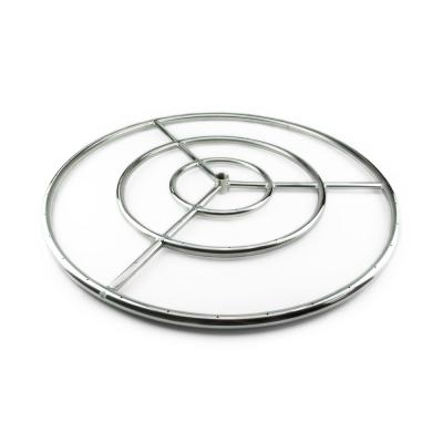 30 in. Stainless Steel Fire Ring Burner