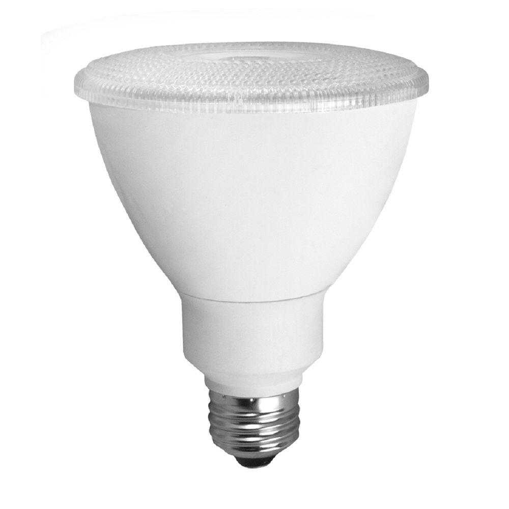 TCP 75W Equivalent Bright White (3000K) PAR30 LED Flood Light Bulb