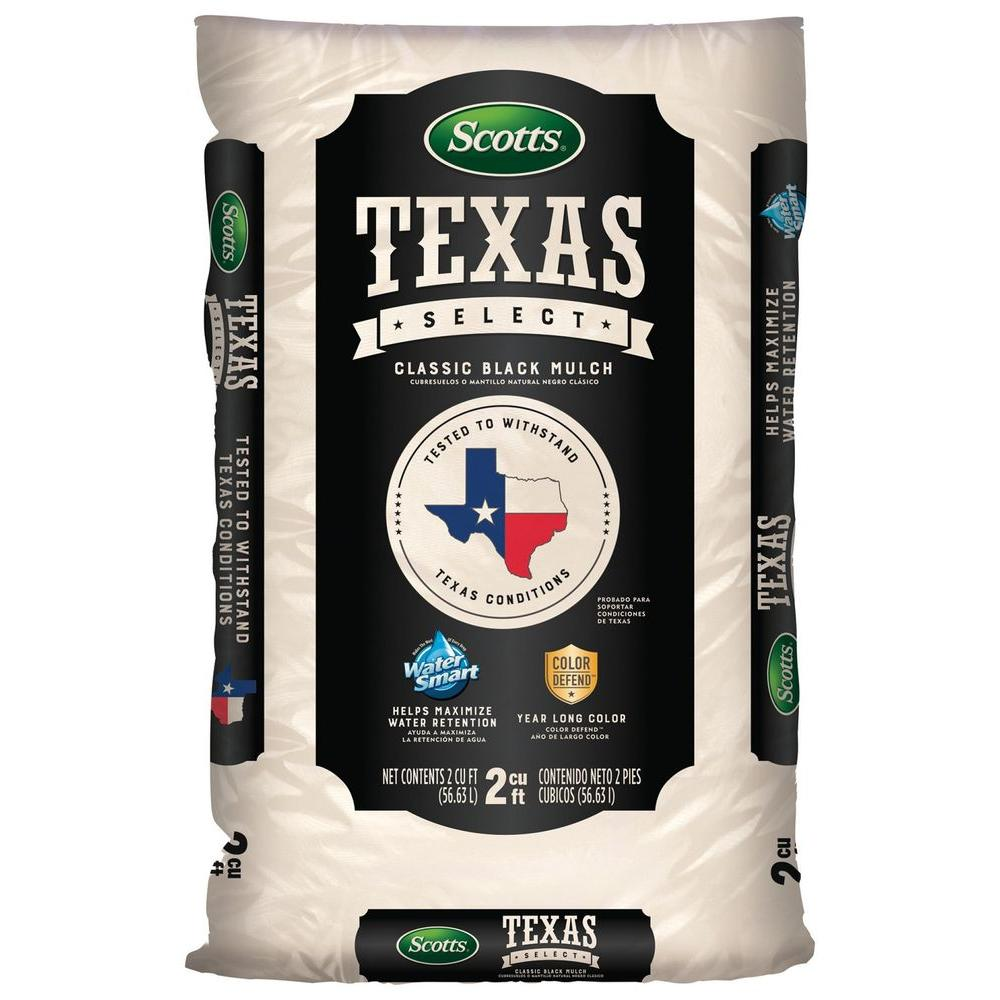 Texas Select 2 cu. ft. Classic Black Mulch