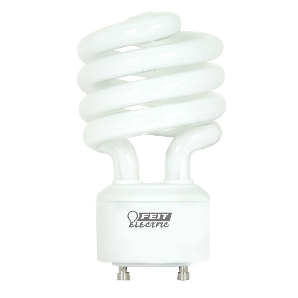E26 Base,Warm White 2 Bulbs 23W 100W Equivalent ,Spiral CFL Bulb UL Listed