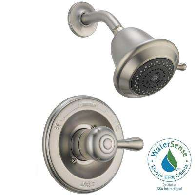 Leland 1-Handle 3-Spray Shower Faucet Trim Kit in Stainless (Valve Not Included)