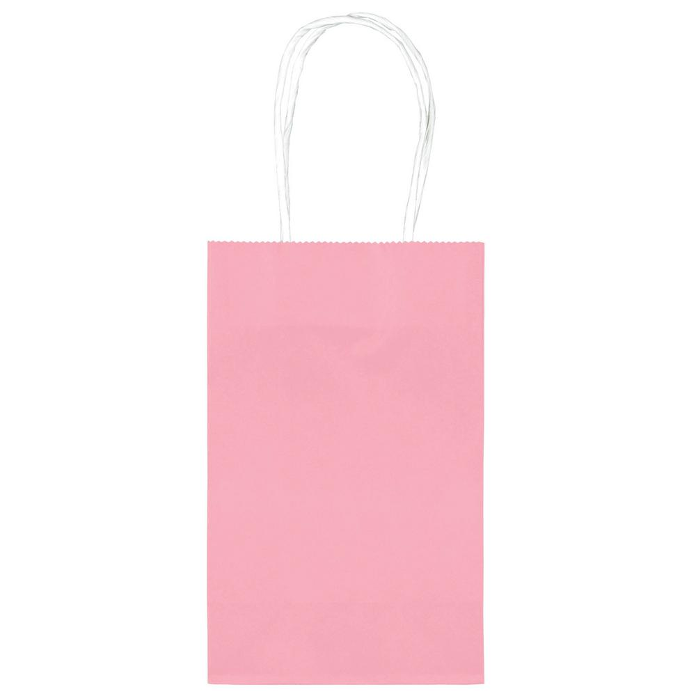 8.25 in.x 5.25 in. Pink Paper Cub Bags Value Pack (10-Count,