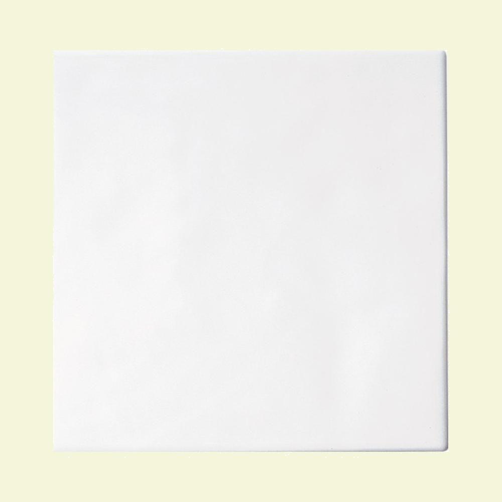 Daltile Polaris Gloss White 8 in. x 8 in. Glazed Ceramic Wall Tile (11 sq. ft. / case)