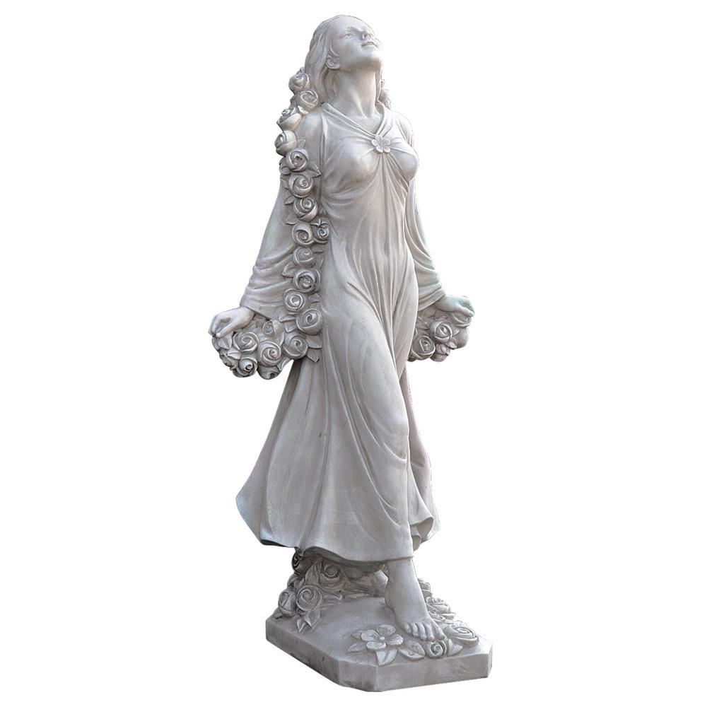 30.5 in. H Flora Divine Patroness of Gardens Statue