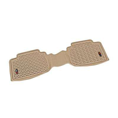 Floor Liner Rear 1-Piece Tan 2005-2011 Toyota Tacoma Double/Access Cab