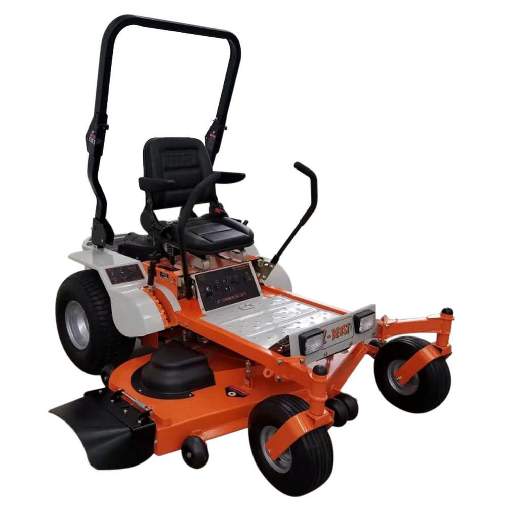 Beast 62 in  Zero-Turn Commercial Mower Powered by Briggs and Stratton 25  HP Pro-Series Engine w/ free Rollbar and Headlights