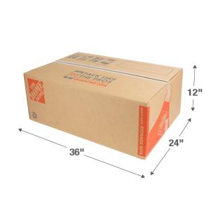 the home depot 36 in l x 24 in w x 12 in d heavy duty long moving