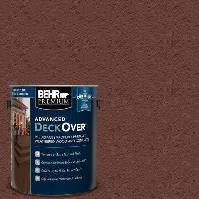 1 gal. #SC-118 Terra Cotta Textured Solid Color Exterior Wood and Concrete Coating