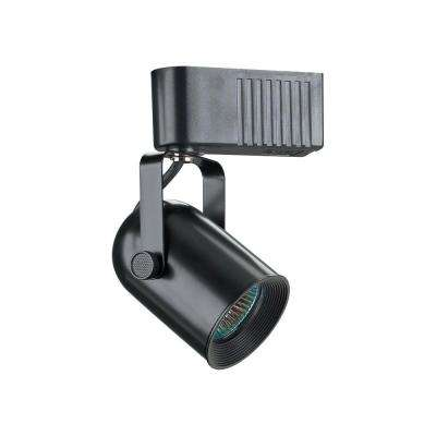 1-Light Black Track Light Fixture