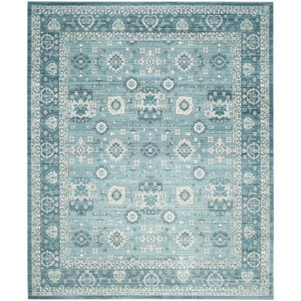Valencia Alpine/Multi 8 ft. x 10 ft. Area Rug