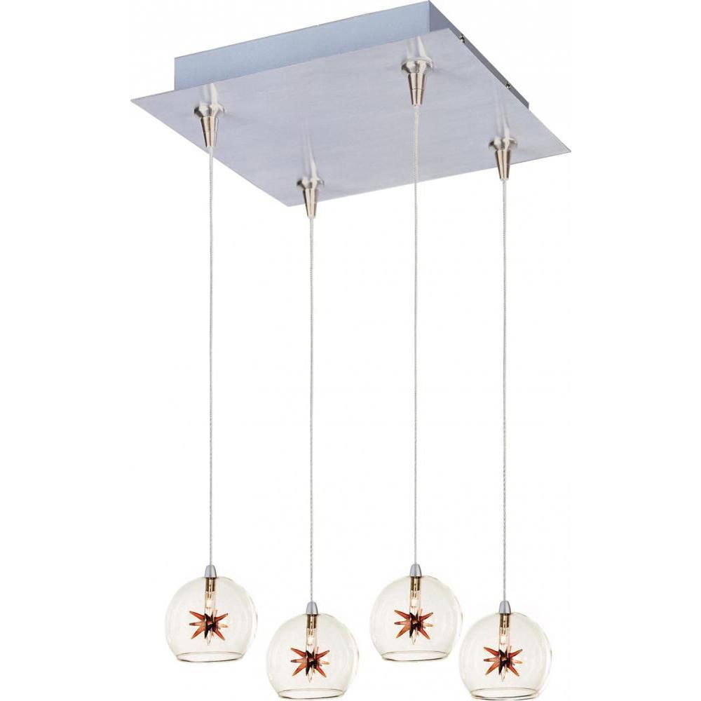 Starburst 4-Light RapidJack Pendant and Canopy