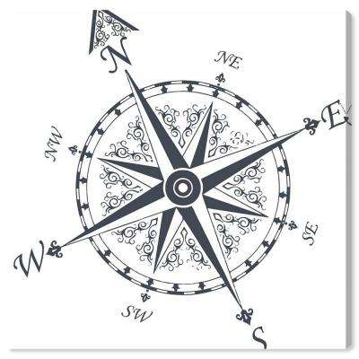 """""""Nautical Compass"""" by Oliver Gal Canvas Wall Art"""