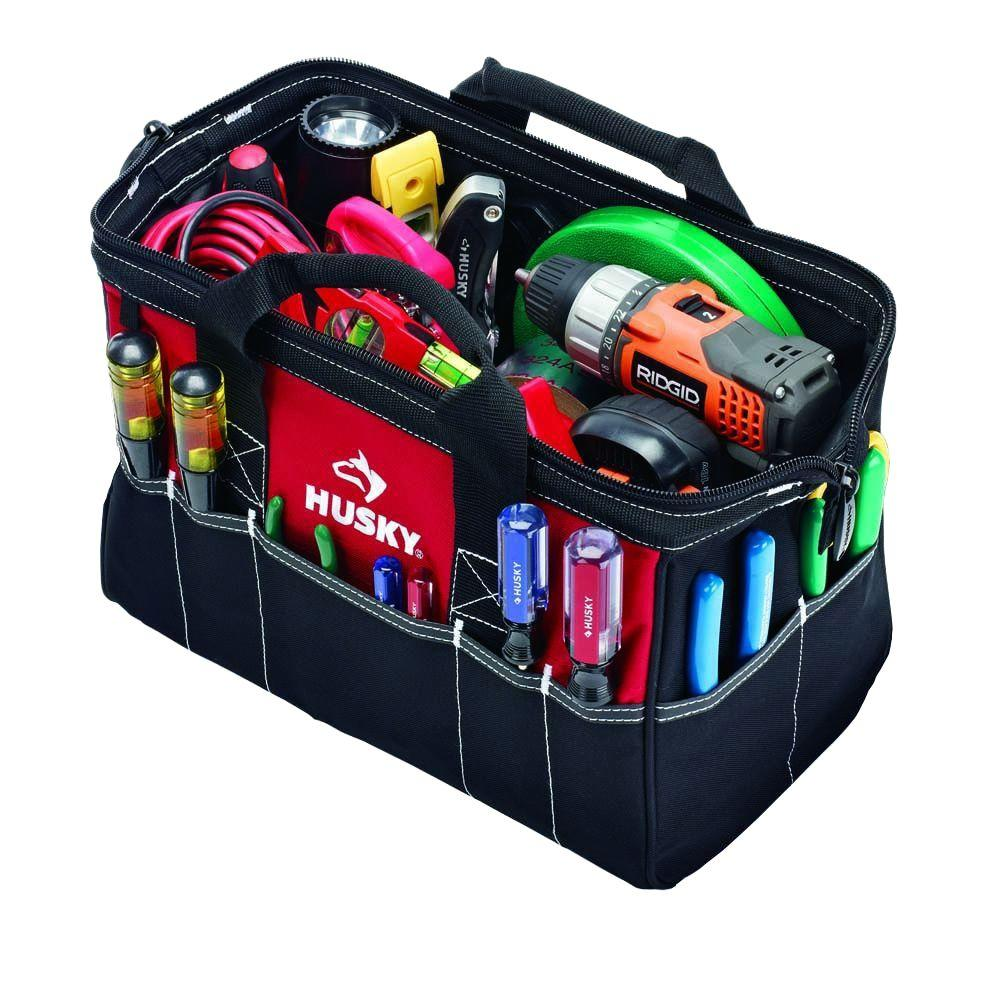 c981cb1170 Husky 15 in. Tool Bag-82035N12 - The Home Depot