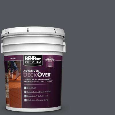 5 gal. #PFC-65 Flat Top Smooth Solid Color Exterior Wood and Concrete Coating