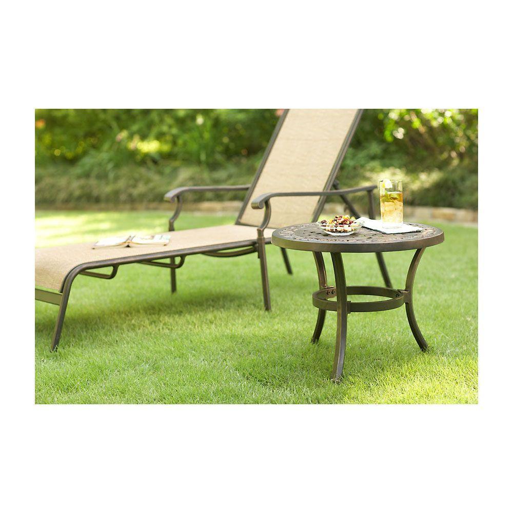 Hampton Bay Solana Patio Side Table