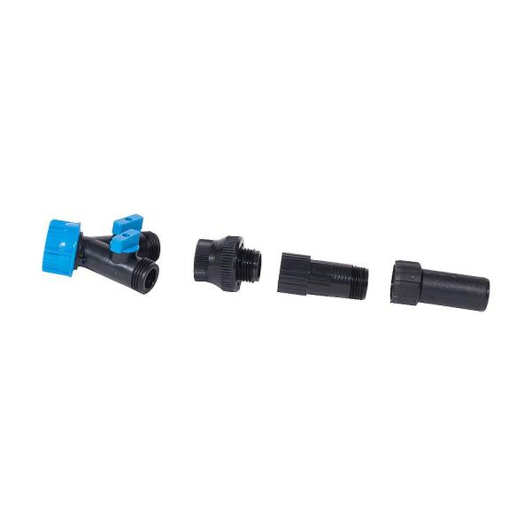 Drip Zone Faucet Connection Kit with a 2-Way Splitter