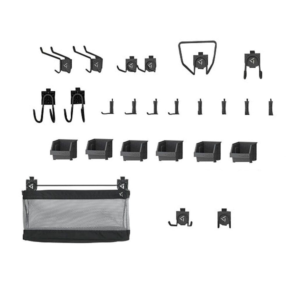 Gladiator GearTrack and GearWall Garage Hook Accessory Kit 2
