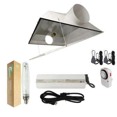 1000-Watt HPS Grow Light System with 8 in. Extra Large Air Cooled Hood Reflector