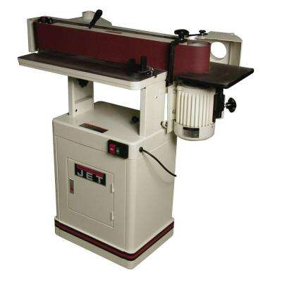 1.5 HP 6 in. x 89 in. Oscillating Edge Horizontal/Vertical Sander 115/230-Volt OES-80CS
