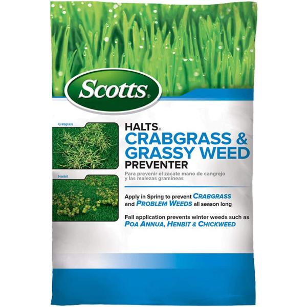 Halts 10.06 lbs. 5,000 sq. ft. Crabgrass and Grassy Weed Preventer