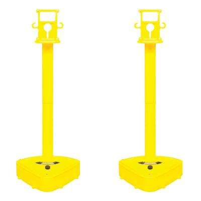 X-Treme Duty Stanchion - Yellow (2-pack)