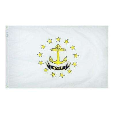 3 ft. x 5 ft. Rhode Island State Flag