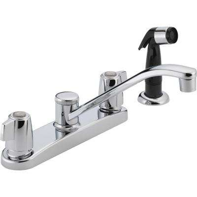 Peerless - Double Handle - Kitchen Faucets - Kitchen - The Home Depot