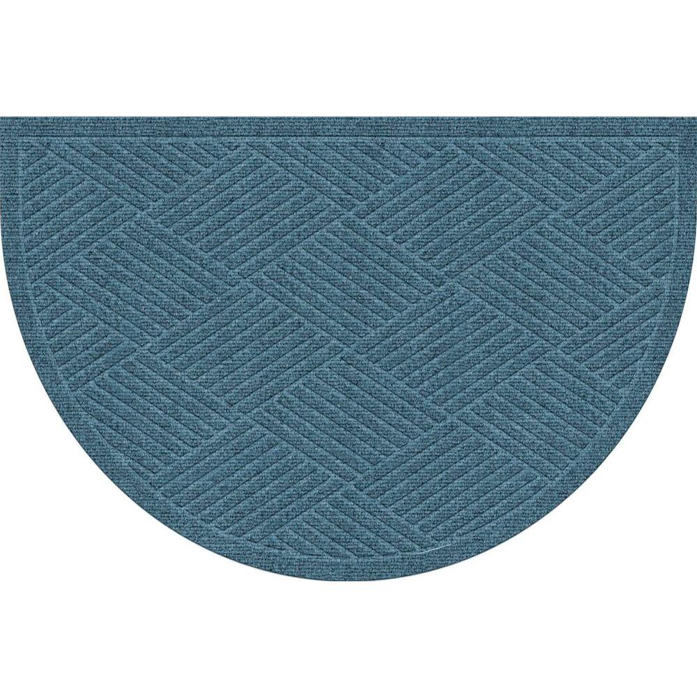 Bungalow Flooring WaterGuard Diamonds Bluestone 24 in. x 39 in. Polypropylene Mat