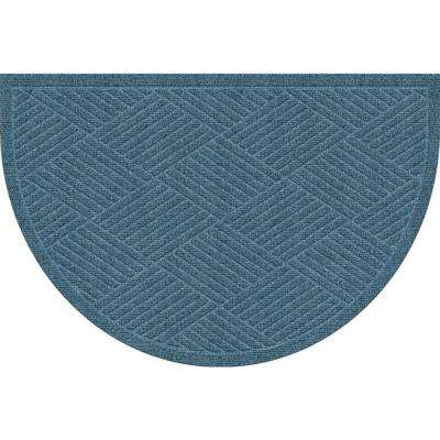 WaterGuard Diamonds Bluestone 24 in. x 39 in. Polypropylene Mat