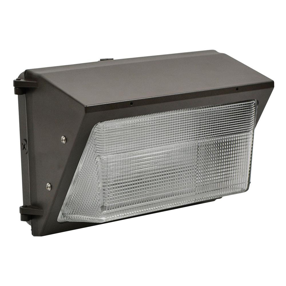 ProLED 55-Watt Bronze Integrated LED Wall Pack Light Fixture