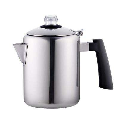 8-Cup Stainless Steel Stovetop Tea Coffee Percolator Pot Kettle