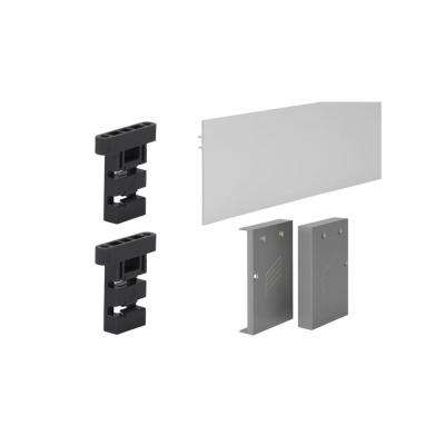 Fascia Head Mount Set for 6 ft. Grant Sliding Door System SD (150 lbs./Door) and HD (325 lbs./Door)