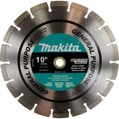 10 in. General Purpose Diamond Premium Segmented Blade