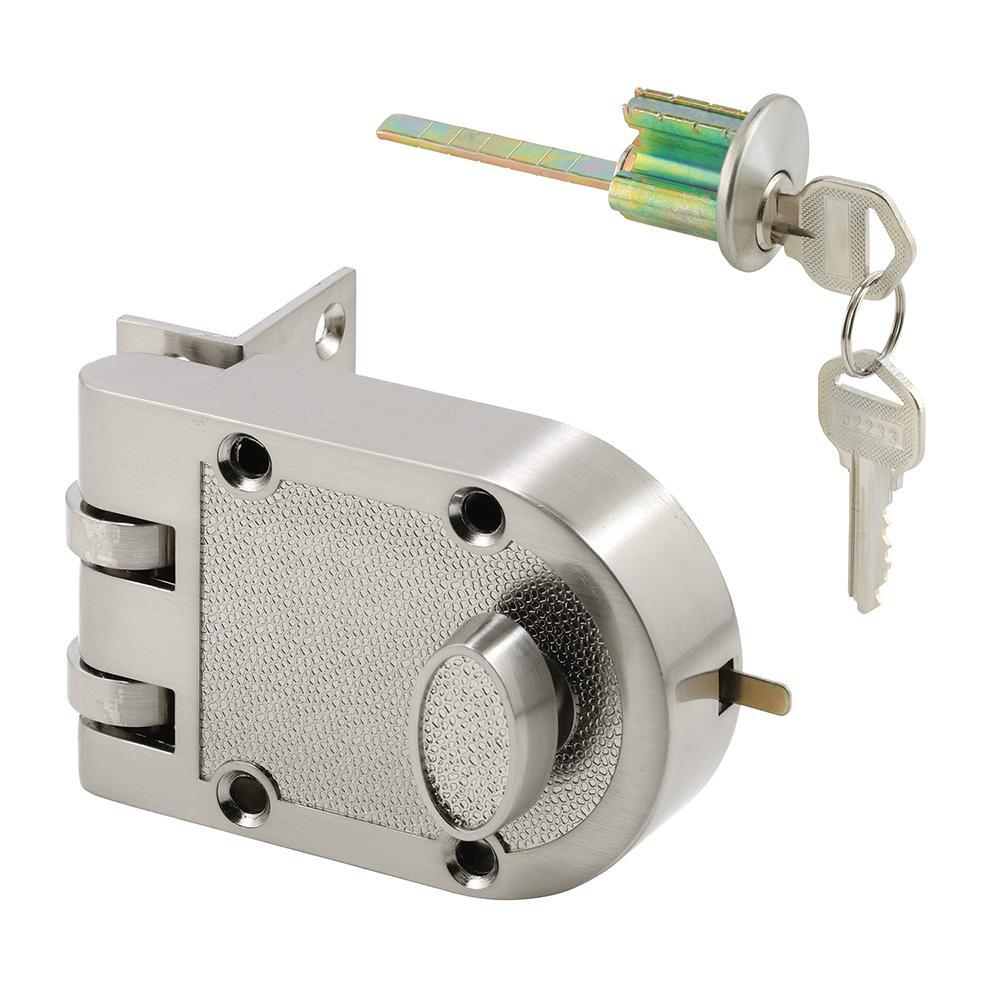 Diecast Brass, Night Latch and Locking Cylinder