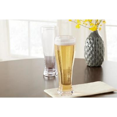 Home Decorators Collection 25.5 oz. Weizen Beer Glasses (Set of 4)