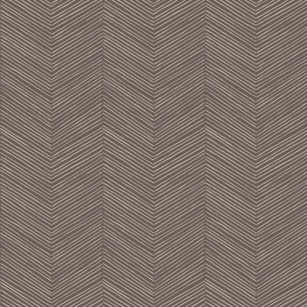 Arrow Weave Cocoa Wallpaper