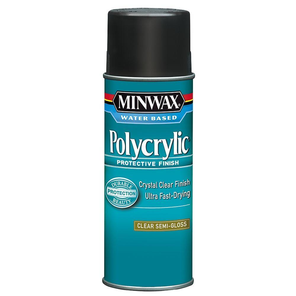 11.5 oz. Semi-Gloss Polycrylic Protective Finish Aerosol Spray